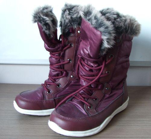 Buty dziecięce zimowe rozmiar 31