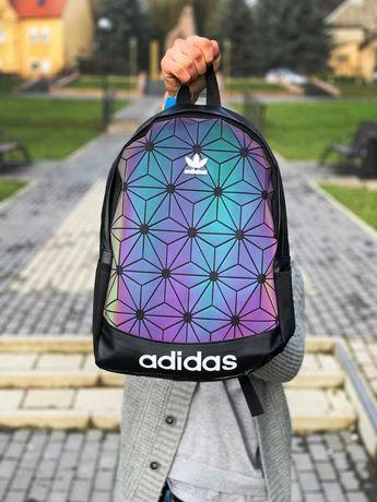 Без предоплаты. Рюкзак 3d Adidas. Школьный портфель. Рюкзак городской.