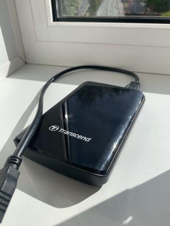 Жесткий диск Transcend 500gb