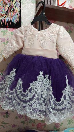 Платье на девочку 1 годик. Сукня на 1 рік