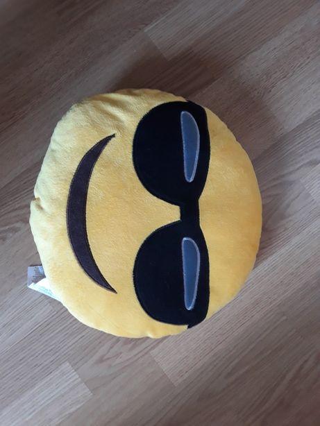 Poduszka Emoji okulary uśmiech