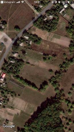 продам участок в Змиевском районе с ветхим домом