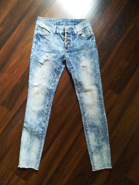 Spodnie jeansy rozmiar S