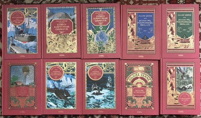 J.Verne -kolekcja Hachette 33 tomy