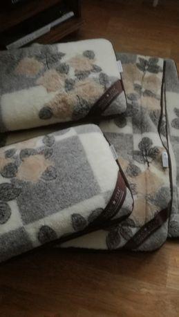 Zestaw kołdra + poduszki WoolMark