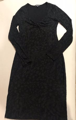 Piękna dzianinowa sukienka, mała czarna r. S/M