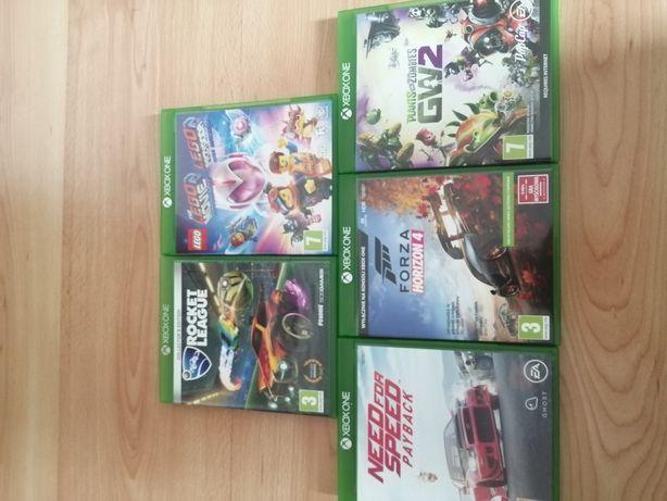 Gry Xbox One sprzedam lub zamienię na grę z ps4 równej wartości
