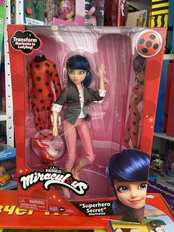 Кукла Леди Баг и Супер-Кот S2 Суперсекрет Маринетт 26 см