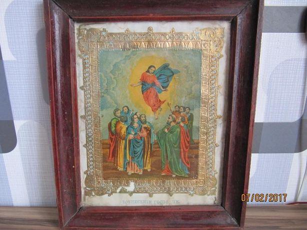 """Продам икону """"Вознесение Господне"""" 1889 года"""