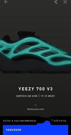 Adidas Yeezy 700 V3 Dark Glow