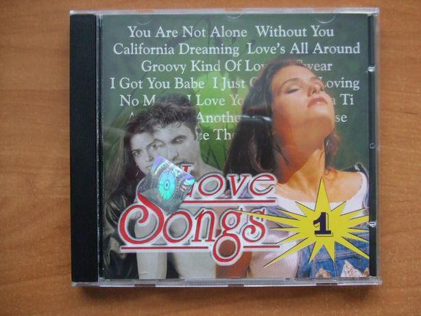 Love Songs 1 składanka CD Oryginalni wykonawcy !