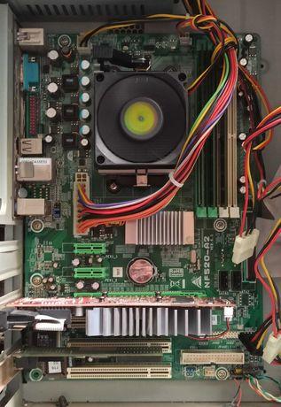 Комплект Athlon X2 4000 2x2100MHz BOX, Biostar NF520-A2, DDR2 2Gb