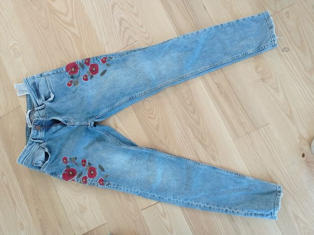 Spodnie Zara r 38