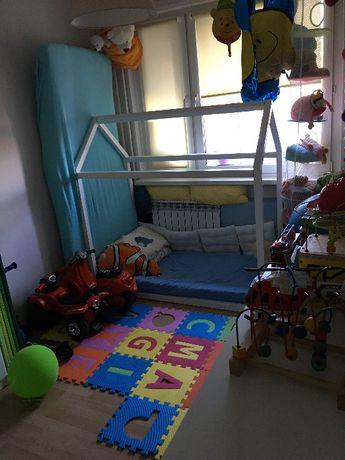 Łóżeczko łóżko dla dziecka z materacem