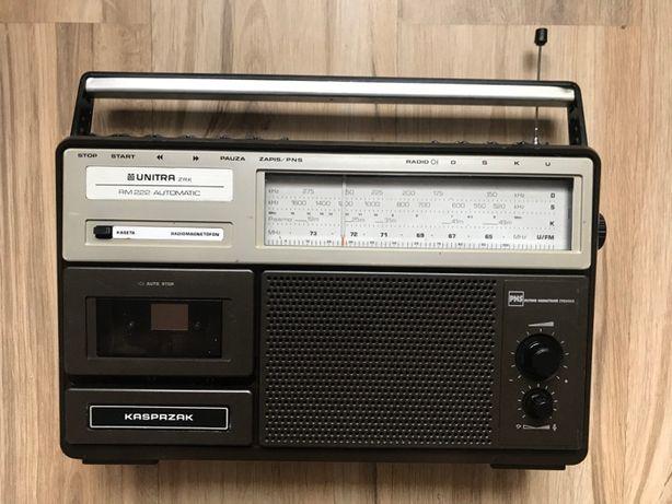 kasprzak RM 222 Unitra radiomagnetofon prl