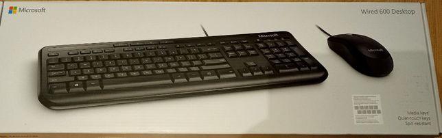 Klawiatura Microsoft Wired 600