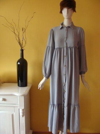 sukienka z falbanami rozmiar S