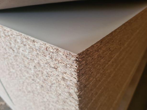 Płyta wiórowa laminowana biała 15 mm