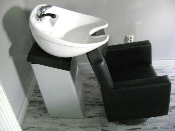 Myjka fryzjerska + 2 fotele