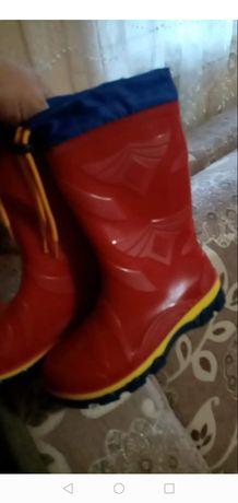 Ризинові чоботи красовки