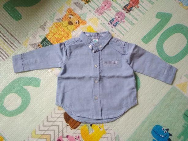 Niebieska koszula Tex 74