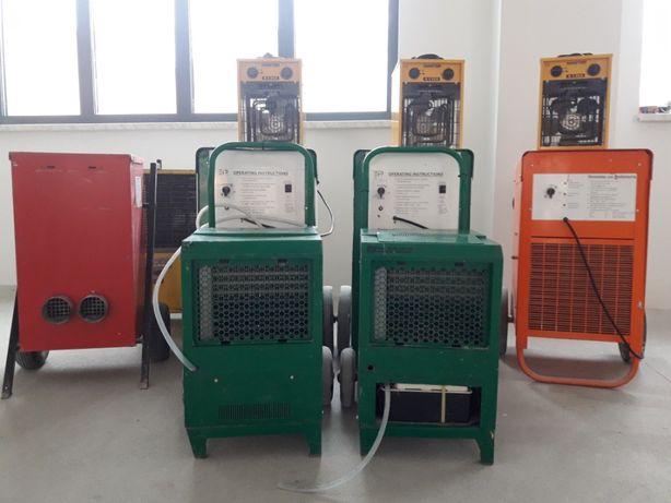 Osuszacz powietrza pochłaniacz wilgoci tynki zalania 80L/24h/30zł