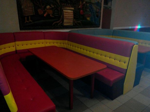 мебель для кафе дискотеки клуба