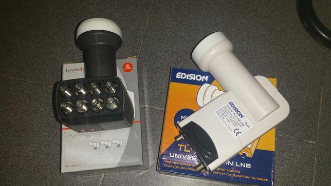 Lnb 2 e 8 saídas satélite e Motor diseq