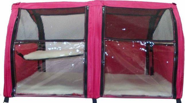 Выставочная палатка для кошек и мелких пород собак.