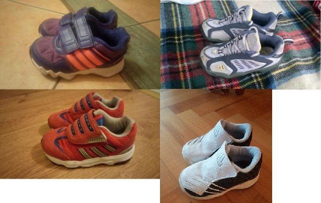 4 pary butów Adidas roz 20,22,23,24