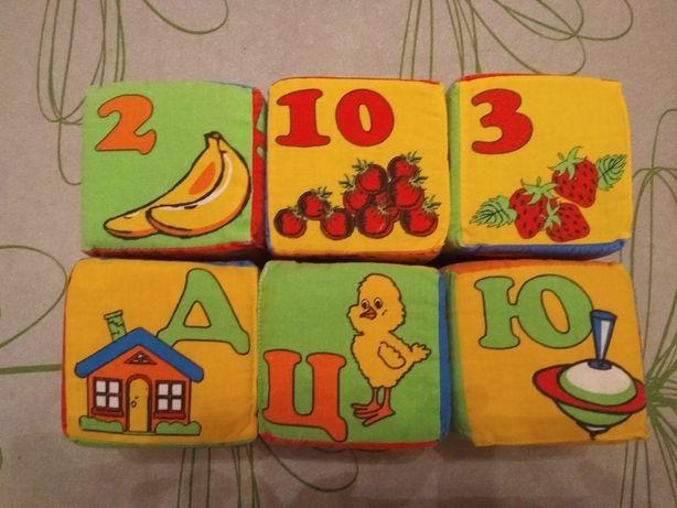 Мягкие кубики 2 комплекта.