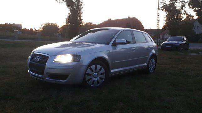 Audi A3 1,6 ben gaz dużo nowych częsci, bogata wersja ,zarejestrowane