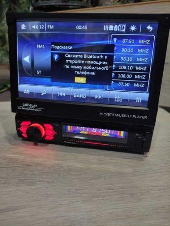 Автомагнитола 1Din c сенсорным экраном Pioneer 7150 Корея FullHD 4x60W