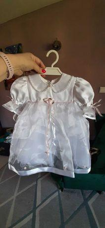 Sukienka do chrztu roz 74 ZA Darmo