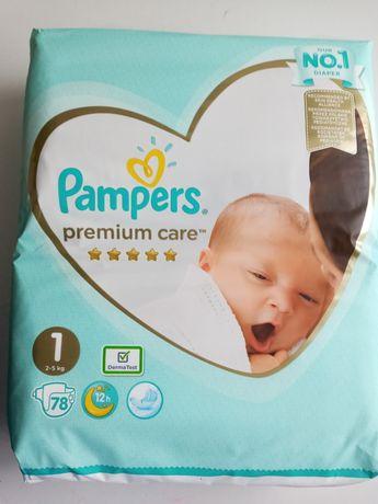 Подгузники Pampers Premium Care New Born 1 (2-5кг) 78 шт