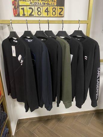 Karl Lagerfeld свитшот свитер лонгслив кофта джемпер мужской на молнии
