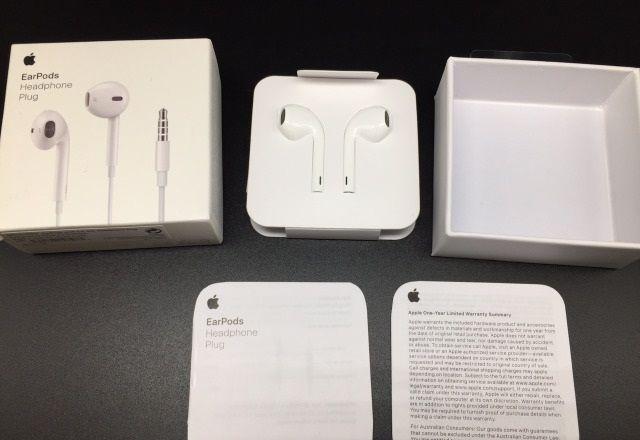 ОРИГИНАЛ Наушники Apple Earpods 3,5 мм mini jack для Iphone 5/5s/6/6s
