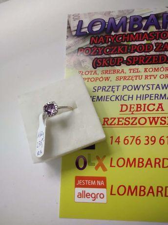Złoty pierścionek PR.585 Waga 1,62g r.14 ! Lombard Dębica
