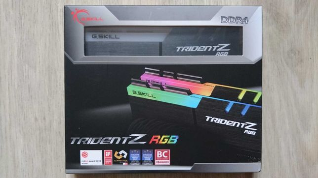 Оперативная память G.Skill 16 GB  DDR4 3200 MHz Trident Z RGB