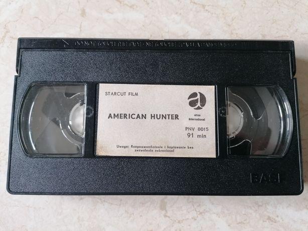 Film - kaseta VHS. Amerykański Łowca (American hunter) z Chris Mitchum