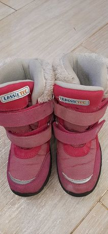 Продам  зимние термо-ботиночки для девочки Lassiе by reima, р-р 29