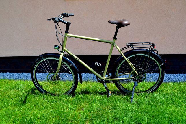 Rower Patria Terra Magura,14-Bieg W Kole.Led Prądnica.Jedyny Taki