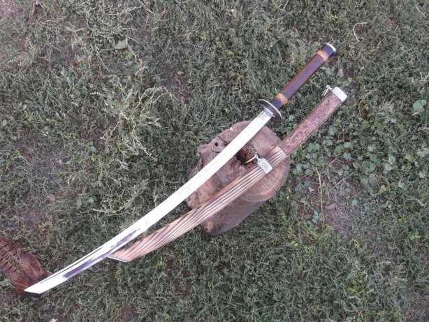 ПОД ЗАКАЗ - КАТАНА Самурайский меч, Ручная работа + гравировка