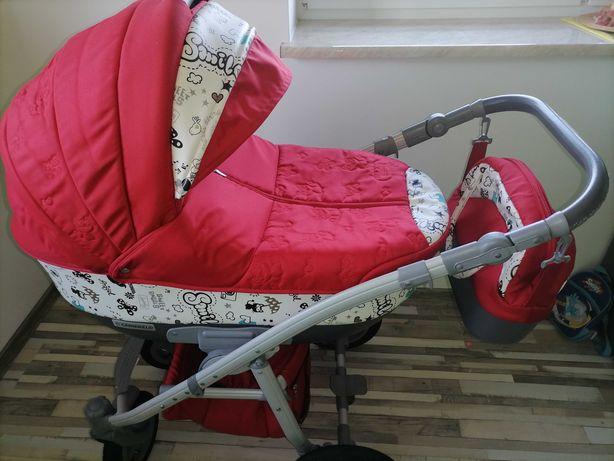 Wózek 2w1 Camarelo Vision Design