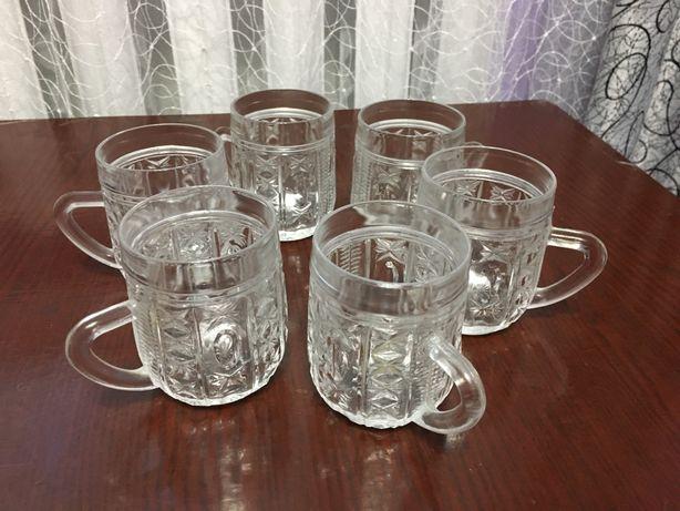 Хрустальные чашки бокалы стаканы 6 штук 150 мл Луганск