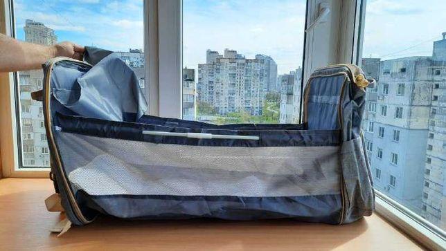 Рюкзак кроватка для мам. Подарок.