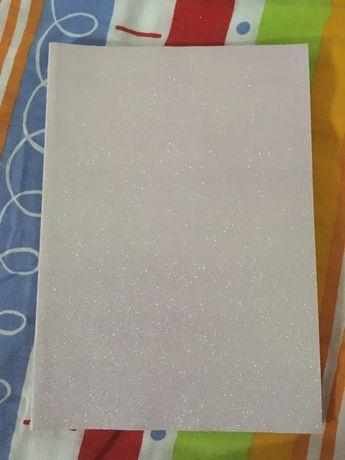 Caderno A5 com brilhantes