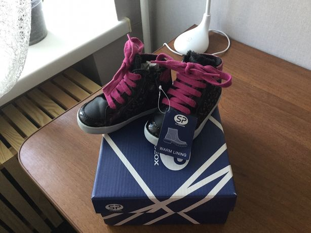 Geox ботиночки кеды 22 размер