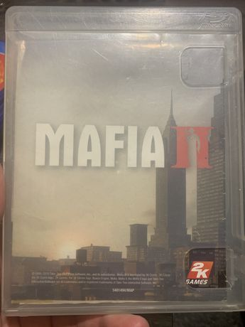 GRA PS3 Mafia 2 II + mapa