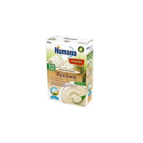 Humana рисова безмолочна каша 200 грам